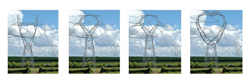 Propozycje słupów linii 400 kV poddanych ocenie społecznej